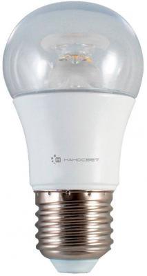 Лампа светодиодная груша Наносвет L234 E27 7.5W 2700K LC-P45CL-D-7.5/E27/827 лампа светодиодная груша наносвет e27 7 5w 4000k lc p45cl 7 5 e27 840 l211