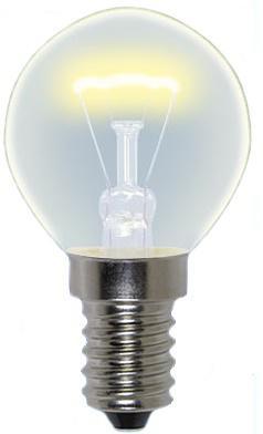 Лампа накаливания шар Uniel 01507 E14 60W IL-G45-FR-60/E14