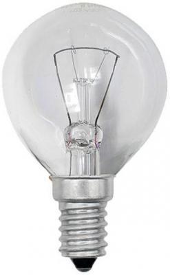Лампа накаливания шар Uniel 01447 E14 60W IL-G45-CL-60/E14