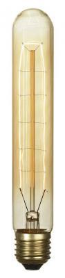 Лампа накаливания цилиндрическая Lussole E27 60W 2700K GF-E-718