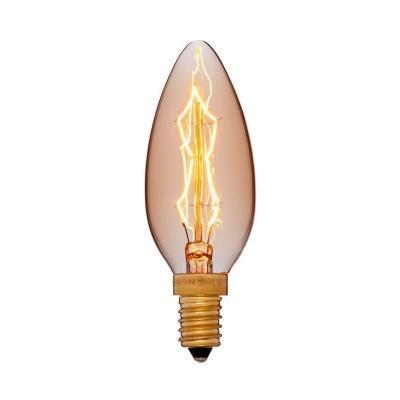 Лампа накаливания свеча Sun Lumen C35 F4 E14 40W 2200K 052-085
