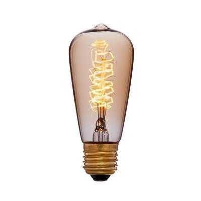 Лампа накаливания колба Sun Lumen ST48 F5 E27 40W 2200K 051-903