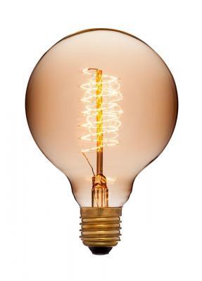 Лампа накаливания шар Sun Lumen G95 F5+ E27 40W 2200K 053-655