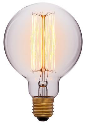 Лампа накаливания шар Sun Lumen E27 60W 2200K 052-290