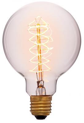 Лампа накаливания шар Sun Lumen E27 60W 2200K 052-306
