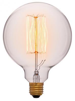 Лампа накаливания шар Sun Lumen E27 60W 2200K 052-313