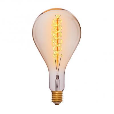 Лампа накаливания груша Sun Lumen PS160 F5 E40 95W 2200K 053-716