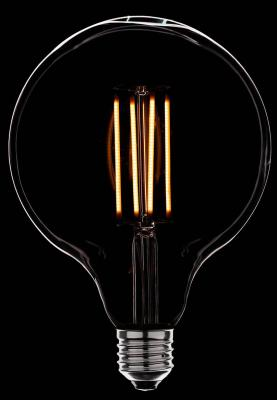 Лампа светодиодная шар Sun Lumen 056-793 E27 4W диммируемая sun lumen лампа светодиодная sun lumen свеча золотая e14 4w 2200k 056 823