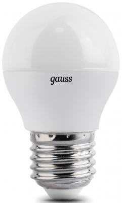 Лампа светодиодная шар Gauss E27 4W 2700K EB105102104