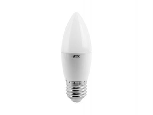 Купить Лампа светодиодная E27 6W 2700K свеча матовая LD33216