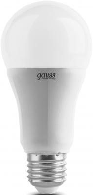 Лампа светодиодная шар Gauss Elementary E27 12W 4100K LD23222 лампочка gauss elementary gu10 mr16 9w 660lm 4100k 13629