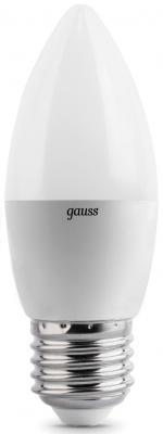 Лампа светодиодная свеча Gauss E27 4W 2700K EB103102104
