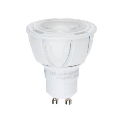 Лампа светодиодная полусфера Uniel Palazzo GU10 6W 4500K LED-JCDR-6W/NW/GU10/FR/38D ALP01WH