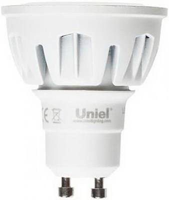Лампа светодиодная полусфера Uniel Merli GU10 6W 4500K LED-JCDR-6W/NW/GU10/FR/38D ALM01WH
