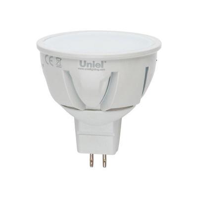 Лампа светодиодная полусфера Uniel Palazzo GU5.3 5W 3000K LED-JCDR-5W/WW/GU5.3/FR ALP01WH