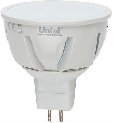 Лампа светодиодная полусфера Uniel 07914 GU5.3 7W 3000K LED-JCDR-7W/WW/GU5.3/FR ALP01WH