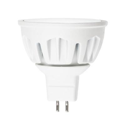 Лампа светодиодная полусфера Uniel Merli GU5.3 7W 3000K LED-JCDR-7W/WW/GU5.3/FR ALM01WH лампа светодиодная 07912 gu5 3 5w 3000k jcdr матовая led jcdr 5w ww gu5 3 fr alp01wh