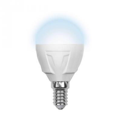 Лампа светодиодная шар Volpe Simple E14 6W 4500K LED-G45-6W/NW/E14/FR/S