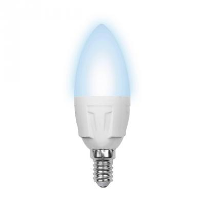 Лампа светодиодная свеча Volpe Simple E14 6W 4500K LED-C37-6W/NW/E14/FR/S