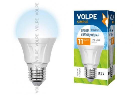 Лампа светодиодная груша Volpe Simple E27 11W 4500K LED-A60-11W/NW/E27/FR/S