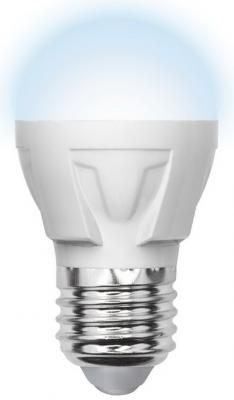 Лампа светодиодная шар Volpe Simple E27 6W 3000K LED-G45-6W/WW/E27/FR/S