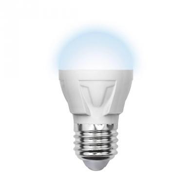 Лампа светодиодная шар Volpe Simple E27 6W 4500K LED-G45-6W/NW/E27/FR/S