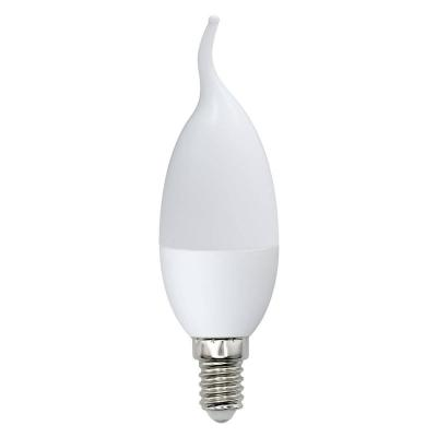 Лампа светодиодная свеча Volpe Optima E14 6W 3000K LED-CW37-6W/WW/E14/FR/O