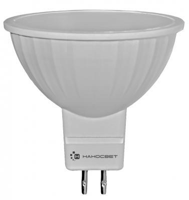 Лампа светодиодная полусфера Наносвет LE-4MR16A-GU5.3-827 GU5.3 4W 2700K L190