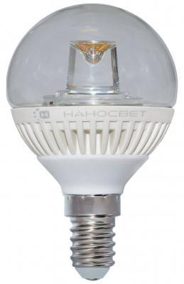 Лампа светодиодная шар Наносвет L153 E14 5W 4000K LC-GCL-5/E14/840