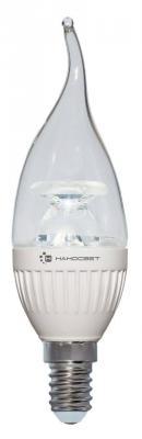 Картинка для Лампа светодиодная свеча Наносвет L218 E14 6.5W 2700K LC-CDTCL-6.5/E14/827