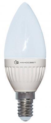 Лампа светодиодная свеча Наносвет L201 E14 6.5W 4000K LC-CD-6.5/E14/840