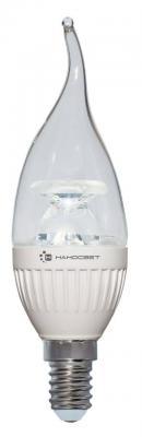 Лампа светодиодная свеча Наносвет L219 E14 6.5W 4000K LC-CDTCL-6.5/E14/840