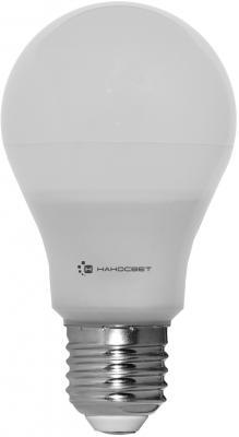 Лампа светодиодная груша Наносвет L163 E27 10W 4000K LE-GLS-10/E27/840 лампа светодиодная груша наносвет e27 7 5w 4000k lc p45cl 7 5 e27 840 l211