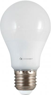 Лампа светодиодная груша Наносвет L165 E27 12W 4000K LE-GLS-12/E27/840 лампа светодиодная груша наносвет e27 7 5w 4000k lc p45cl 7 5 e27 840 l211