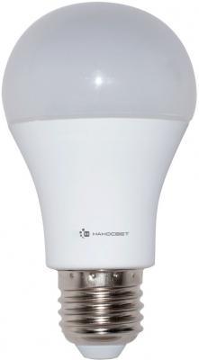 Лампа светодиодная груша Наносвет L196 E27 15W 2700K LC-GLS-15/E27/827
