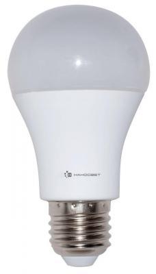 Лампа светодиодная груша Наносвет E27 15W 4000K LC-GLS-15/E27/840 L197 лампа светодиодная груша наносвет e27 7 5w 4000k lc p45cl 7 5 e27 840 l211