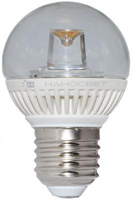 Лампа светодиодная шар Наносвет E27 5W 2700K LC-GCL-5/E27/827 L141