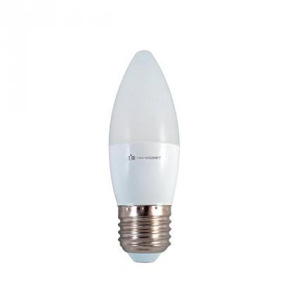 Лампа светодиодная свеча Наносвет E27 6W 4000K LE-CD-6/E27/840 L253 лампа светодиодная груша наносвет e27 7 5w 4000k lc p45cl 7 5 e27 840 l211
