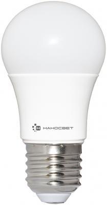 Лампа светодиодная груша Наносвет E27 7.5W 4000K LC-P45-7.5/E27/840 L207 лампа светодиодная груша наносвет e27 7 5w 4000k lc p45cl 7 5 e27 840 l211