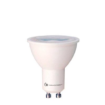 Лампа светодиодная полусфера Наносвет GU10 8.5W 4000K LH-MR16-8.5/GU10/840 L283 лампа светодиодная диммируемая gu10 8w 4000k полусфера прозрачная lh mr16 d 8 gu10 840 l243