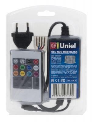 Контроллер для светодиодных RGB лент (10800) Uniel ULC-N20-RGB Black фуразолидон табл 50мг n20