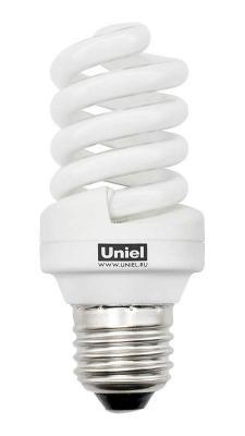 Лампа энергосберегающая спираль Uniel 03269 E27 24W 2700K ESL-S12-24/2700/E27 лампа энергосберегающая 0554 e14 15w 2700k спираль матовая esl s11 15 2700 e14