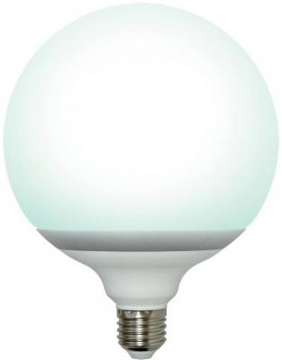 Лампа энергосберегающая шар Uniel 05406 E27 50W 4000K ESL-G145-50/4000/E27