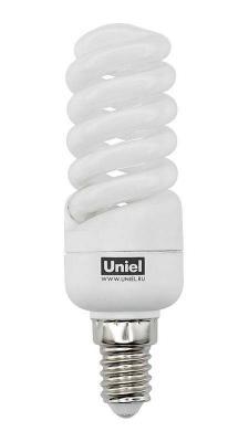 Лампа энергосберегающая спираль Uniel 01098 E14 13W 2700K ESL-S21-13/2700/E14