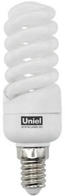 Лампа энергосберегающая спираль Uniel 05371 E14 13W 4000K