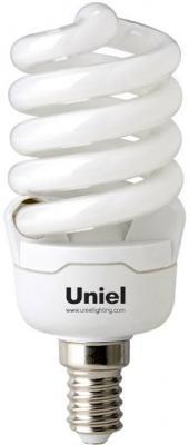 Лампа энергосберегающая спираль Uniel 0830 E14 15W 2700K ESL-S41-15/2700/E14