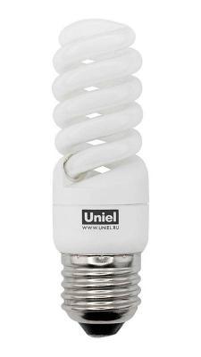 Лампа энергосберегающая спираль Uniel 01493 E27 13W 2700K ESL-S21-13/2700/E27 лампа энергосберегающая 0554 e14 15w 2700k спираль матовая esl s11 15 2700 e14