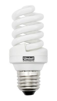 Лампа энергосберегающая спираль Uniel 00076 E27 15W 2700K ESL-S11-15/2700/E27