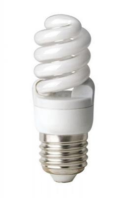 Лампа энергосберегающая спираль Uniel 01155 E27 8W 2700K ESL-S41-08/2700/E27 лампа энергосберегающая 0554 e14 15w 2700k спираль матовая esl s11 15 2700 e14