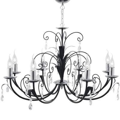 Подвесная люстра Arte Lamp Romana A1742LM-8BK